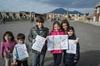 Tour privato della Costiera Amalfitana e di Pompei per famiglie, da...