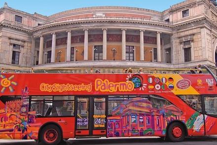 Coupon Tour & Giri Turistici Groupon.it Escursione della costa palermitana: tour Hop-On Hop-Off in autobus