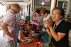 Private Food tour at Damnoen Saduak Floating Market with Cooking class