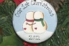 Pottery ornament painting in Ellicottville, NY