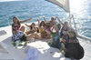 Private Catamaran Tour Sunlight to Isla Mujeres with Snorkeling fro...