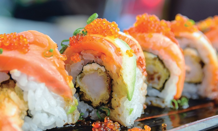 GINZA HIBACHI STEAKHOUSE & SUSHI BAR - Downtown Pleasantville: $10 For $20 Worth Of Hibachi Dinner Dining