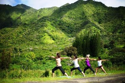 Jungle Waterfall Hike: Beachfront Yoga and Sacred Paths of Pali-Manoa (Local Retail Sports) photo