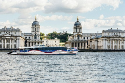 The Painted Hall and MBNA Thames Clippers River Roamer: Hop On Hop Off Pass (London)