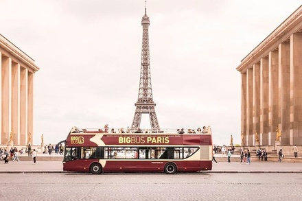 Circuit en « Big Bus » à arrêts multiples à Paris