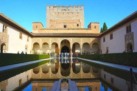 Visita a pie por la Alhambra, el Generalife y los Palacios Nazaríes en Granada