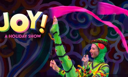 "image for ""JOY! A Holiday Show with Circus, Dance and Live Music"""