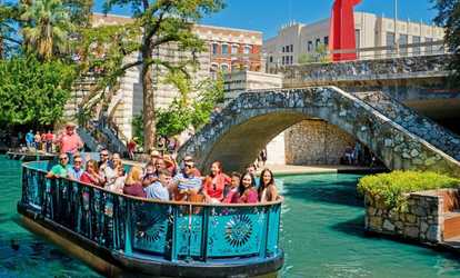 Image Placeholder For San Antonio River Walk Cruise Hop On Off Bus Tour