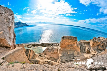 Vuelta a la Isla de Ibiza con Ferry Aquabus Boats