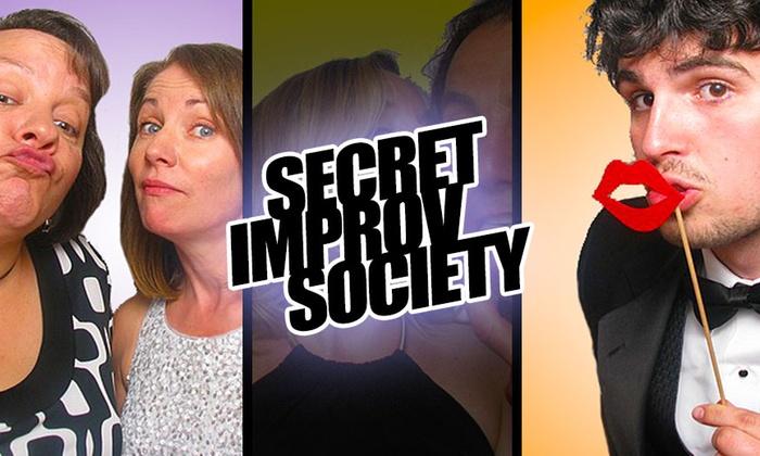 Shelton Theater - San Francisco: Secret Improv Society at Shelton Theater