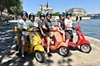 Visite d'une journée de Paris privée et guidée en Vespa avec pause ...