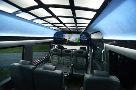 Luxury Sprinter point to point service things to do partybus #dreamridellc