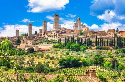 Gita privata di un giorno a San Gimignano, Volterra e Certaldo