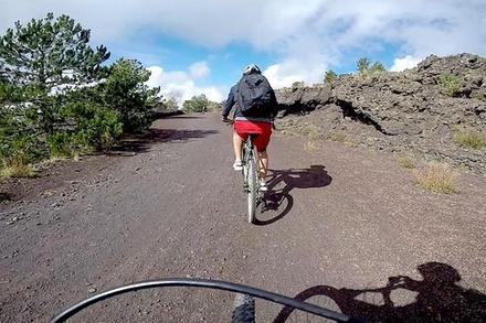 Promozione Esperienze Groupon.it Tour privato di 5 ore sull'Etna in mountain bike da Catania