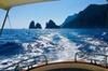Capri in barca