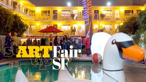 Hotel Del Sol: stARTup Art Fair SF at Hotel Del Sol
