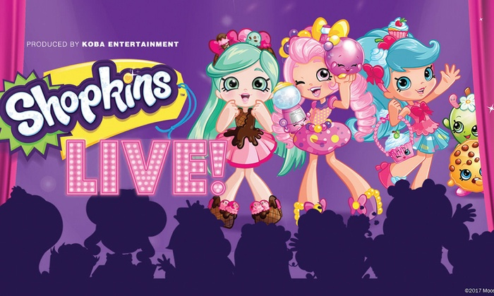"""Shopkins Live!"" - Downtown Richmond: ""Shopkins Live!"" - Wednesday October 4, 2017 / 6:30pm"