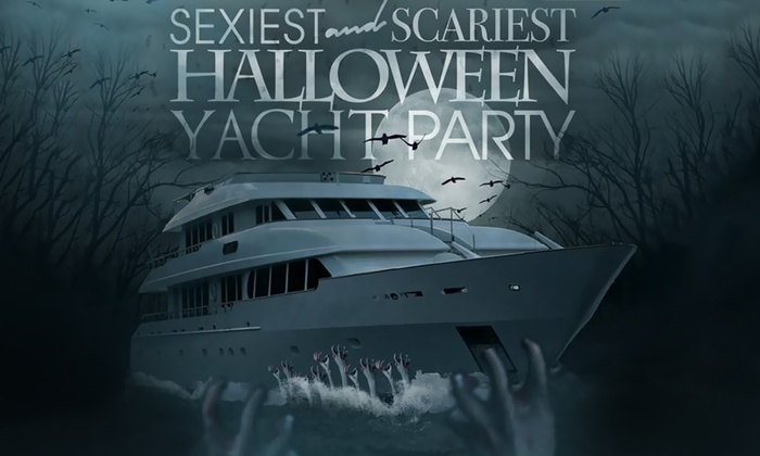Anita Dee II Yacht at Dusable Harbor - Downtown: Halloween Yacht Party on Anita Dee II at Anita Dee II Yacht at Dusable Harbor