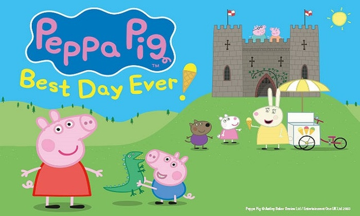 Tickets to see Peppa Pig's Best Day Ever