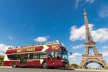 Circuit en «Big Bus» à arrêts multiples à Paris