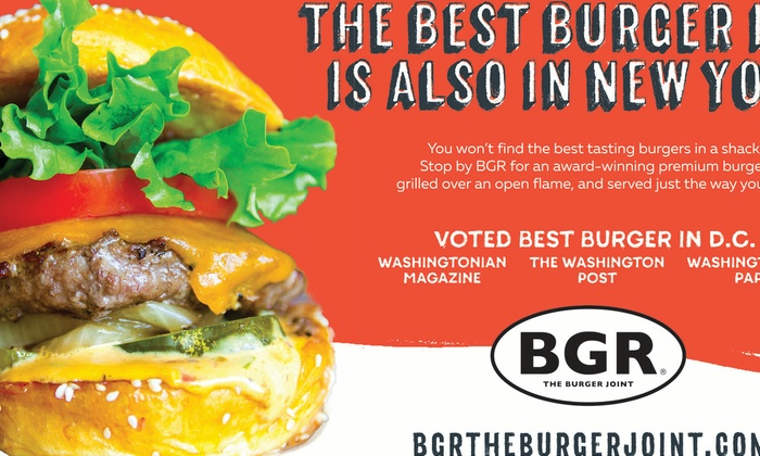 PEOPLE HAVE CALLED OUR BURGERS TOTALLY INSANE.
