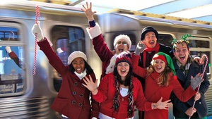 Greenhouse Theater Center: EL Stories: Holiday Train at Greenhouse Theater Center