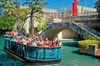 San Antonio River Walk Cruise, Hop-On Hop-Off Bus Tour and Tower of...