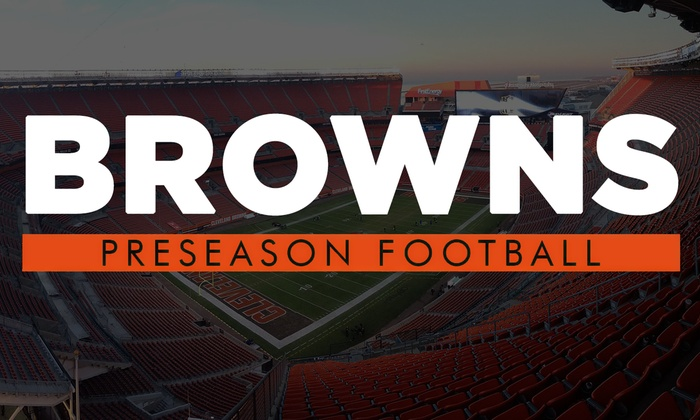 Cleveland Browns Preseason Football