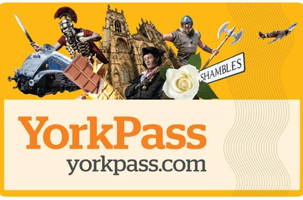 The York Pass Including HopOn HopOff Tour