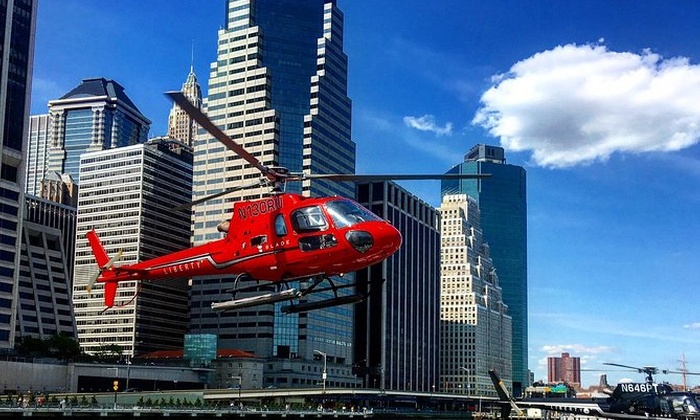 Why is it absolutely necessary to fly a helicopter in New York?