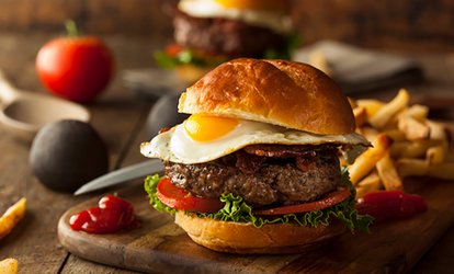 image for $10 For $20 Worth Of <strong>Burgers</strong>, Fries & More
