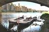 Crociera sul fiume a Firenze su un tradizionale Barchetto