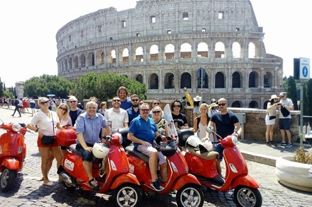 Tour in Vespa: Il meglio di Roma (3 ore - 10:00)