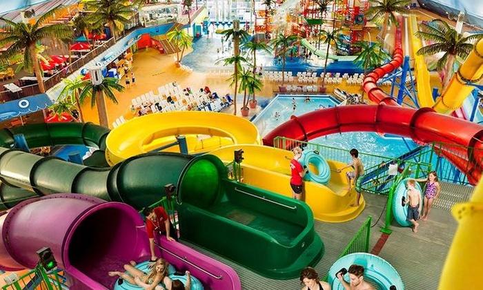 Canadian Niagara Hotels Inc St Catharines Fallsview Indoor Waterpark Day P
