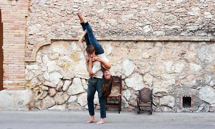 Joe's Movement Emporium - Mount Rainier: Orange Grove Dance: Un castell built for two at Joe's Movement Emporium