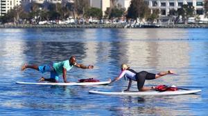 Coronado Ferry Landing: Stand-Up Paddle Board Yoga
