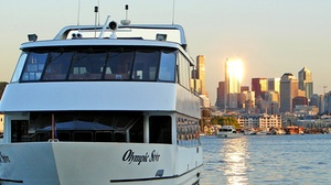 Waterways Cruises Yacht at HomePort: Sunday Supper Cruise - Sunday October 30, 2016 / 5:00pm (Boarding Begins at 4:30pm)