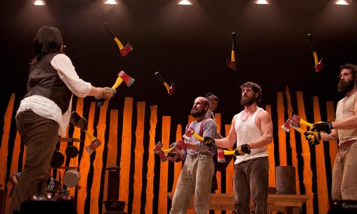 Irvine Barclay Theatre - University of California, Irvine: Cirque Alfonse: Timber! at Irvine Barclay Theatre