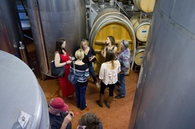 Flat Creek Estate Winery: Wine Production Tour with Tasting