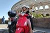 Vespa 125cc noleggio a Roma