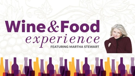Wine & Food Experience Featuring Martha Stewart - Saturday, Nov 17, 2018 / 1:00pm-4:00pm (VIP Entry at 12:00pm)