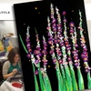 Wine & Paint Party: Snapdragons & Fireflies