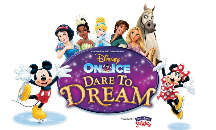 SAP Center at San Jose - Central San Jose: Disney On Ice Presents Dare to Dream Presented by Stonyfield YoKids Organic Yogurt at SAP Center at San Jose