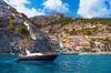 Tour in barca per piccoli gruppi a Positano e Amalfi da Napoli