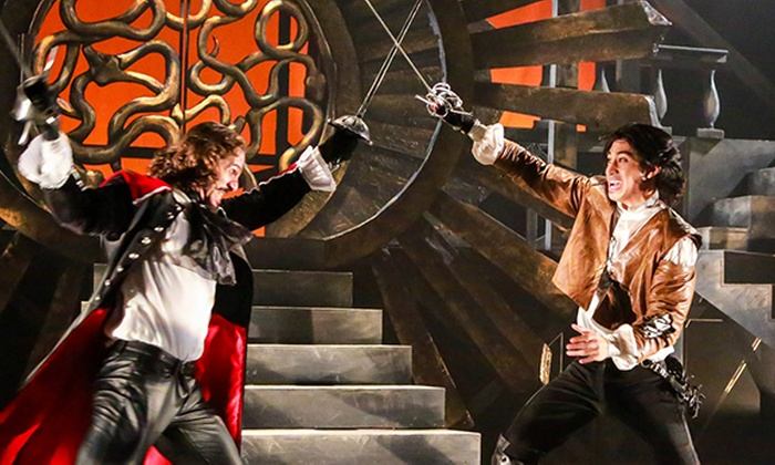 Synetic Theater at Crystal City - Crystal City Shops: The Man in the Iron Mask at Synetic Theater at Crystal City