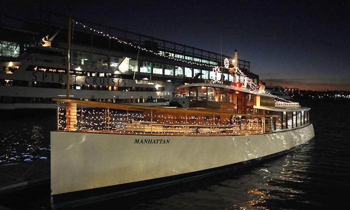 Holiday Cruises on the Yacht Manhattan at Yacht Manhattan