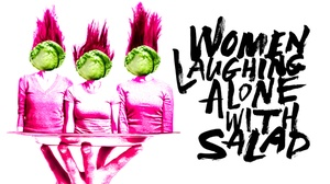 Kirk Douglas Theatre: Women Laughing Alone With Salad at Kirk Douglas Theatre