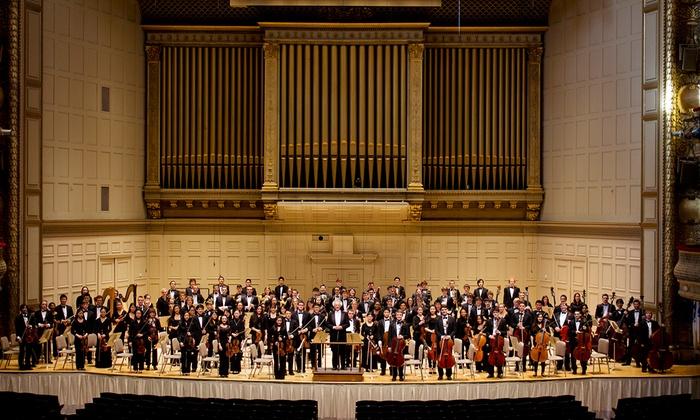 Boston Symphony Hall - Fenway - Kenmore - Audubon Circle - Longwood: Boston Philharmonic Youth Orchestra at Boston Symphony Hall