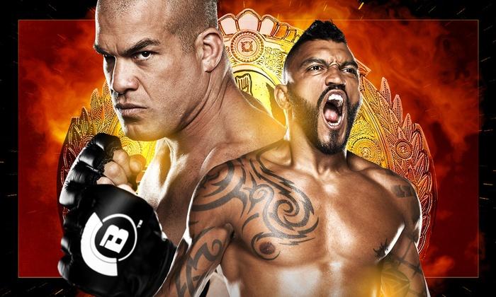 SAP Center at San Jose - Central San Jose: Bellator MMA: Ortiz vs. McGeary at SAP Center at San Jose