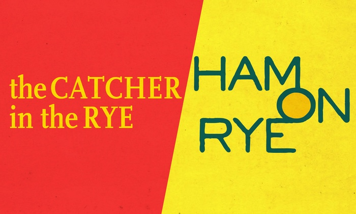 Drinking & Writing Theater at Haymarket Pub & Brewery - Near West Side: The Catcher in the Rye VS Ham on Rye at Drinking & Writing Theater at Haymarket Pub & Brewery